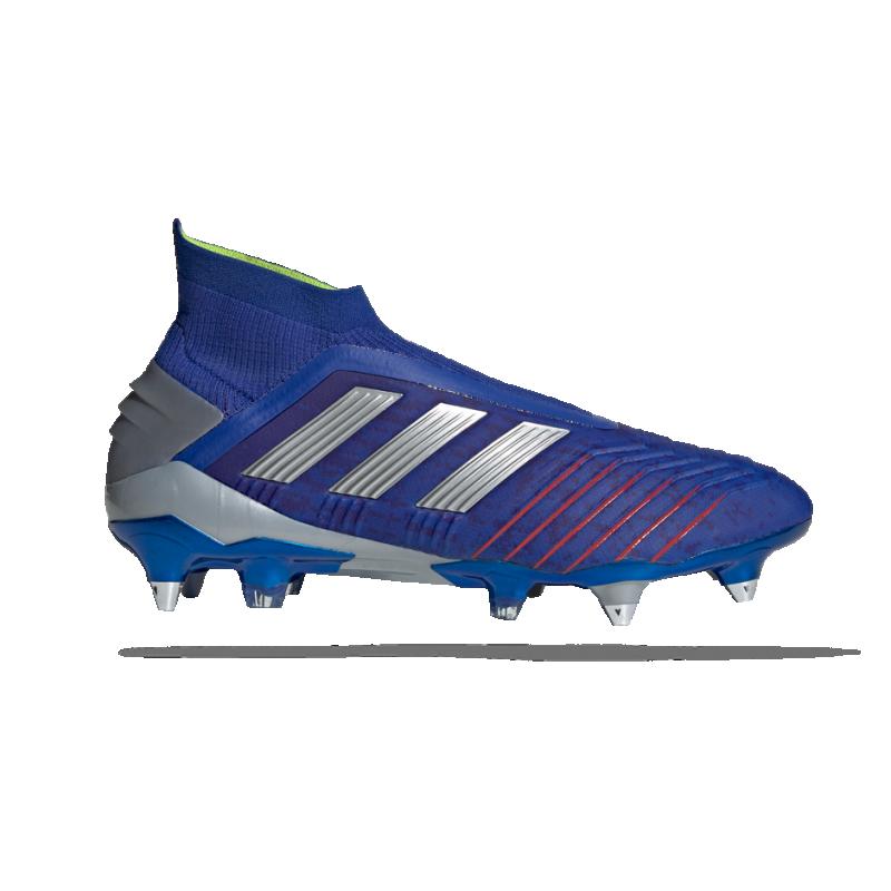 adidas Predator 19+ SG (BC0282) - Blau