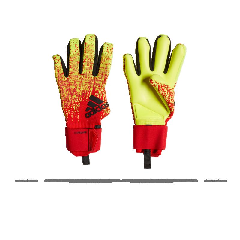 adidas Predator Pro Climawarm TW-Handschuh (DN8574) - Gelb