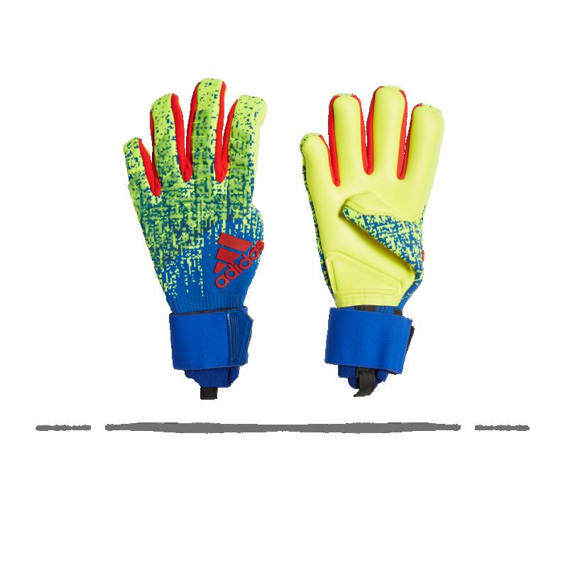 adidas Predator Pro Powercontrol TW-Handschuh (DN8587) - Gelb
