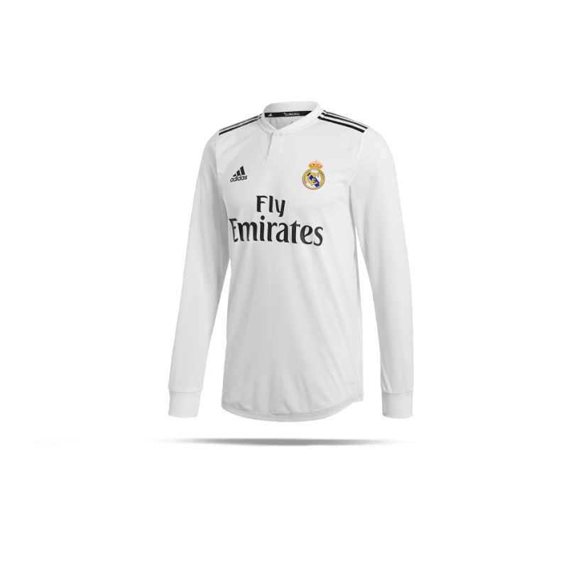 56ac6c40584 adidas Real Madrid Authentic Trikot Home 18 19 (DQ0869) - Weiß