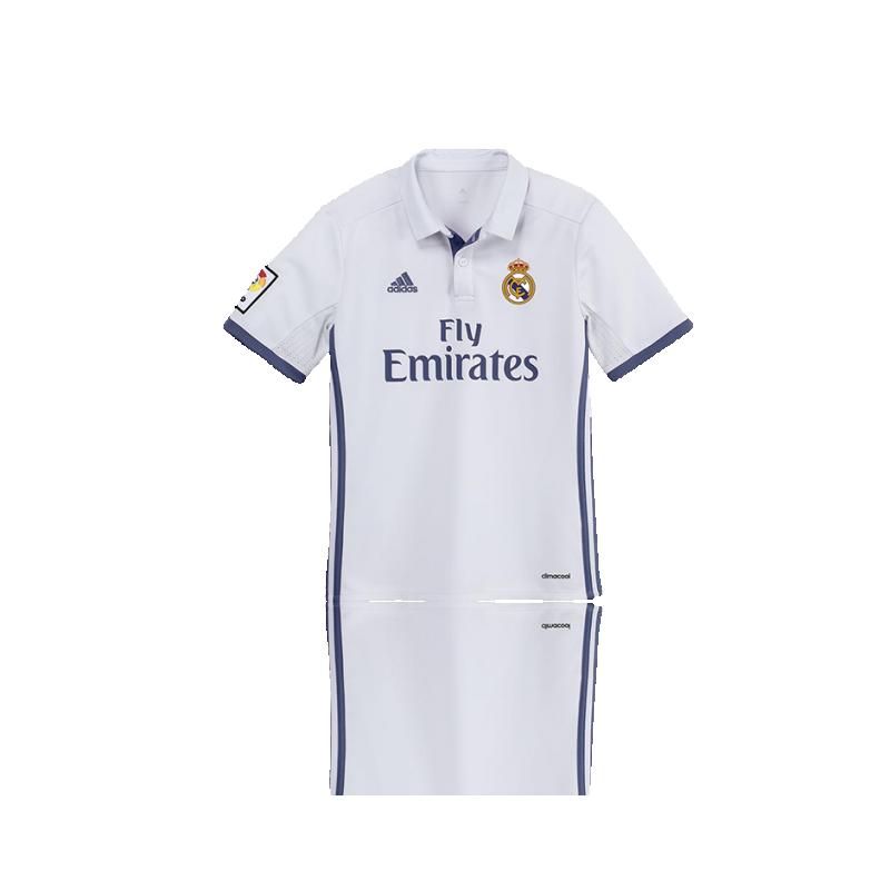 Adidas Real Madrid Trikot Home Kinder 1617 Ai5189 In Weiß