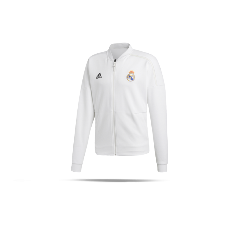 edb3524eb Adidas Real Madrid Z N E Anthem Jacket Cy6098 In Weiss