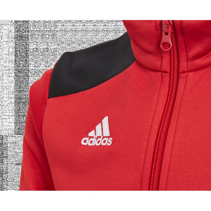 adidas Regista 18 Training Top Kids Rot Schwarz Fußball