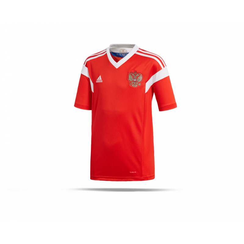 adidas russland trikot home kinder wm 2018 br9057 in rot. Black Bedroom Furniture Sets. Home Design Ideas