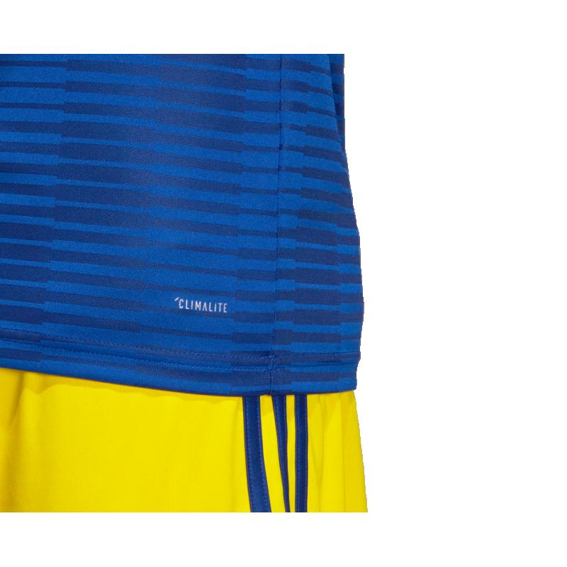 adidas schweden trikot away wm 2018 br3834 in blau. Black Bedroom Furniture Sets. Home Design Ideas
