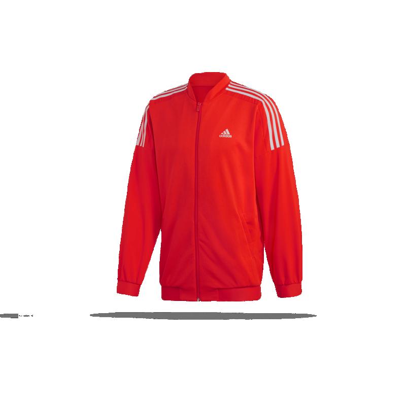 adidas Sport ID Woven Bomberjacket Jacke (DQ1471) - Rot