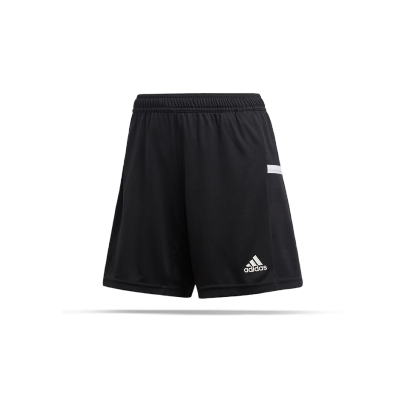 adidas Team 19 Knitted Short Damen (DW6882) - Schwarz