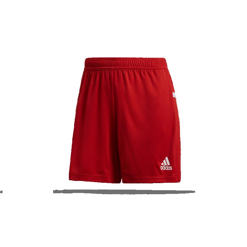 adidas Team 19 Knitted Short Damen (DX7296) - Rot
