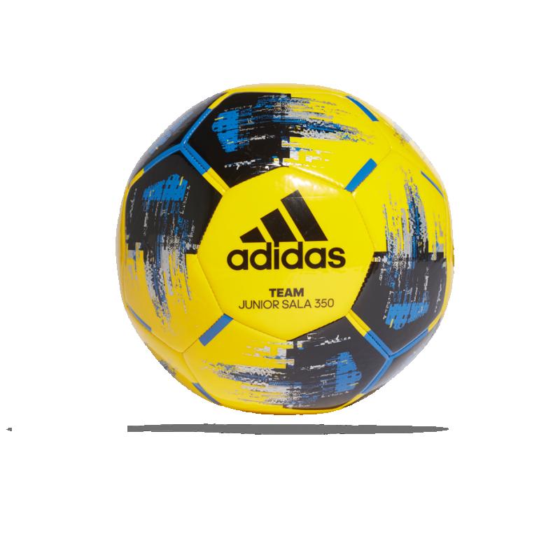 adidas Team 350g Junior Futsal Fussball Gr. 4 (CZ9571) - Gelb