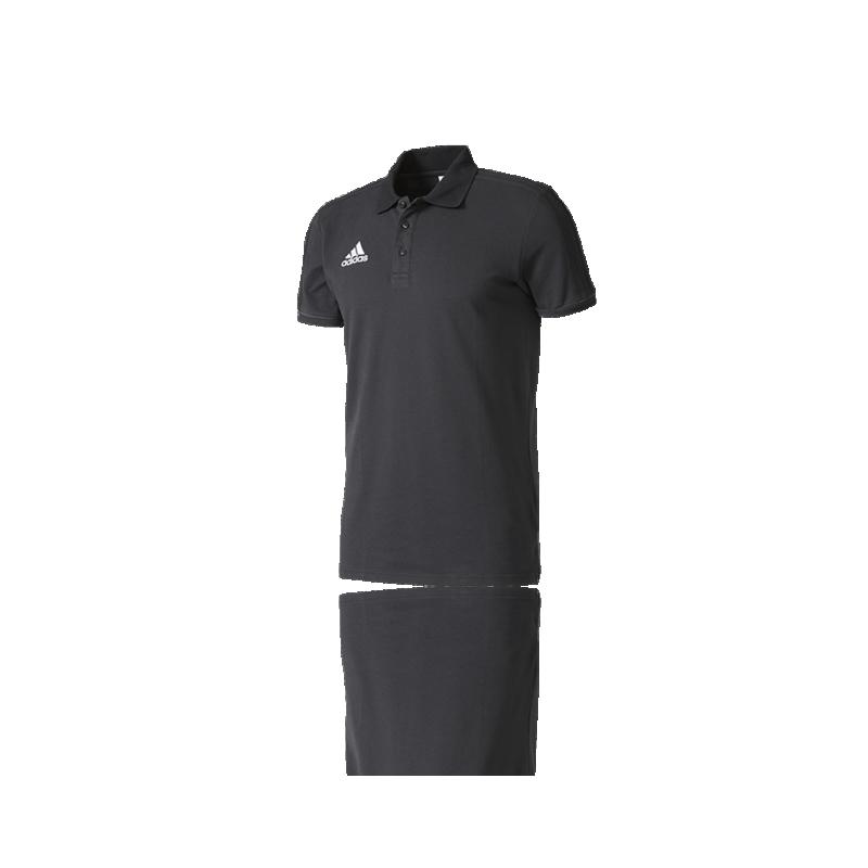 adidas Tiro 17 Poloshirt (AY2956) - Schwarz
