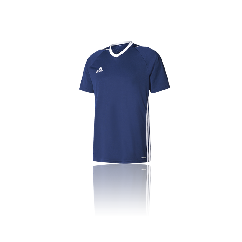 adidas tiro 17 trikot kurzarm kinder bk5438 in blau. Black Bedroom Furniture Sets. Home Design Ideas