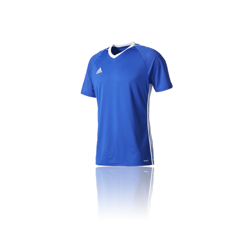 adidas tiro 17 trikot kurzarm kinder bk5439 in blau. Black Bedroom Furniture Sets. Home Design Ideas