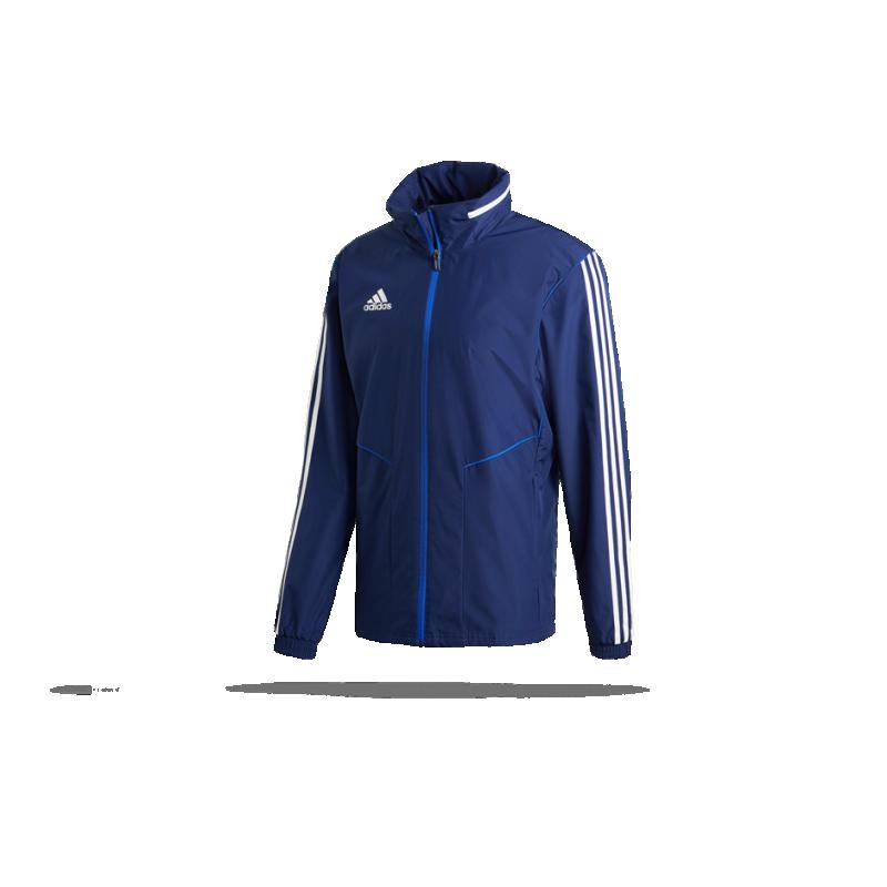 adidas Tiro 19 Allwetterjacke Jacket (DT5417) - Blau