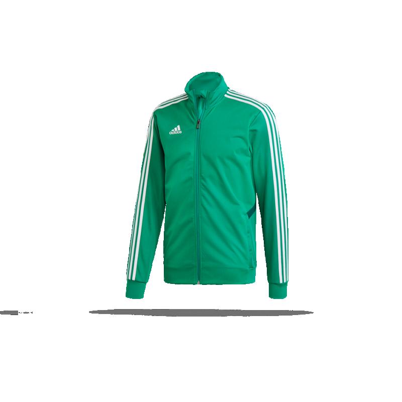 Adidas Tiro 19 Kinder Trainingsjacke bold green core green
