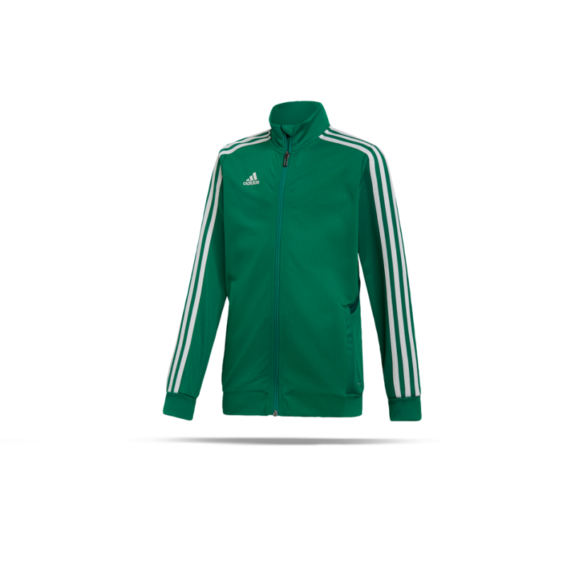 adidas Tiro 19 Trainingsjacke Kids Rot Weiss |Sportzubehör