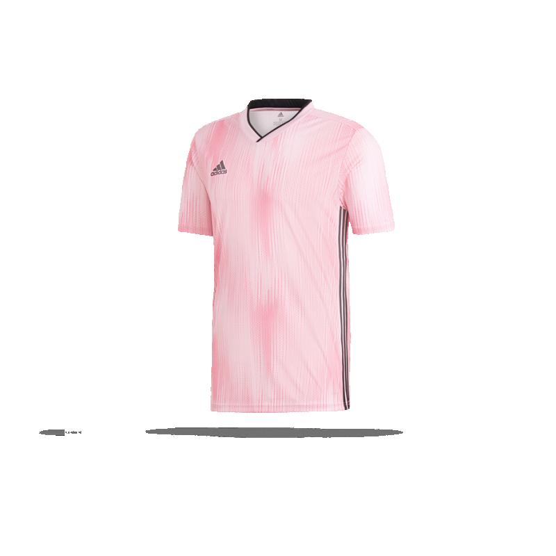adidas Tiro 19 Shirt True PinkSchwarz