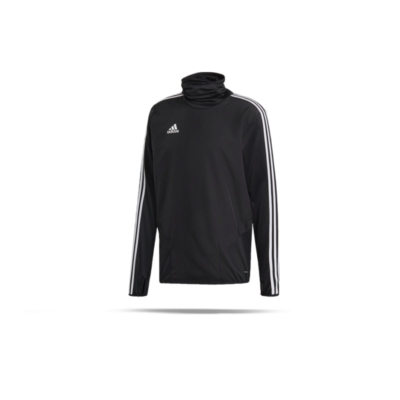 adidas Tiro 19 Warm Top Sweatshirt Kinder (D95952) - Schwarz