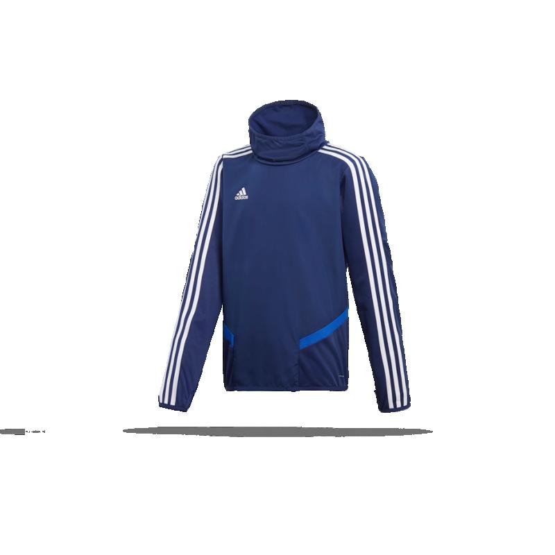 adidas Tiro 19 Warm Top Sweatshirt Kinder (DT5282) - Blau