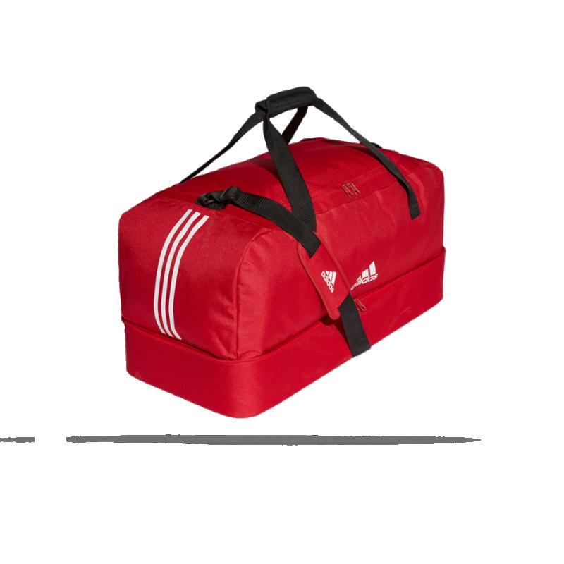 edcfbc9ec07c8 ... adidas Tiro Duffel Bag Tasche mit Bodenfach Gr. L (DU1990) - Rot ...