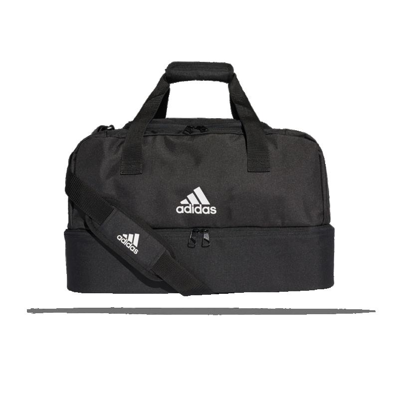 39bdc8f2a5b98 adidas Tiro Duffel Bag Tasche mit Bodenfach Gr. S (DQ1078) - Schwarz