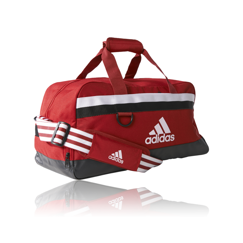 adidas tiro teambag sporttasche gr m s13303 in rot. Black Bedroom Furniture Sets. Home Design Ideas