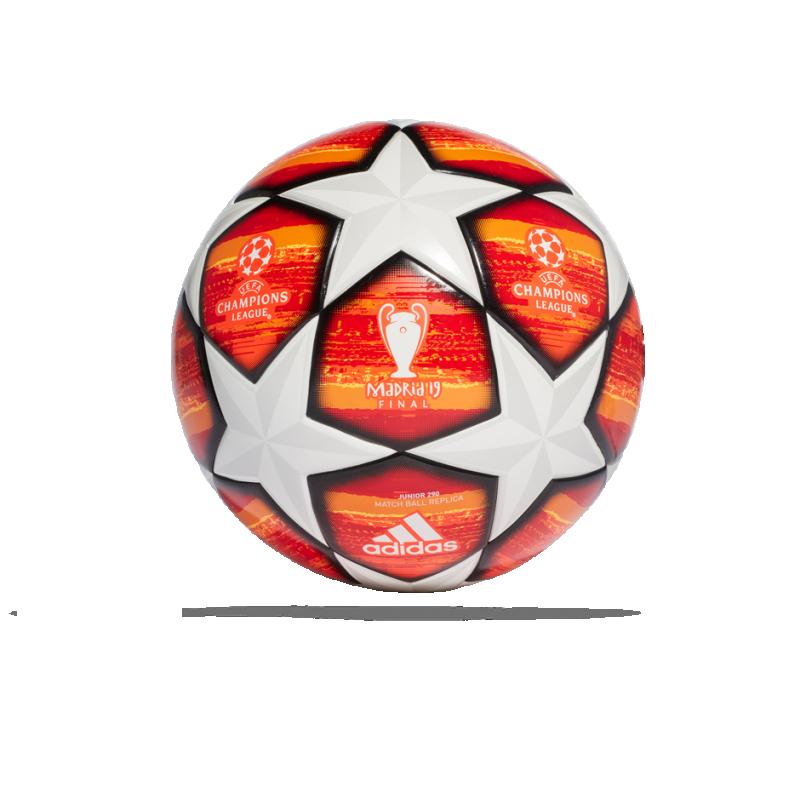 adidas UCL Finale Madrid 19 Lightball 290 g (DN8682) - Weiß
