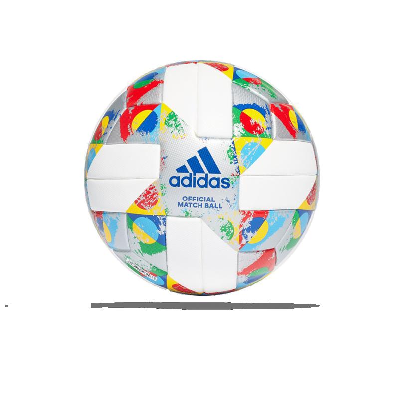 adidas UEFA Nations League OMB Spielball Gr. 5 (CW5295) - Weiß