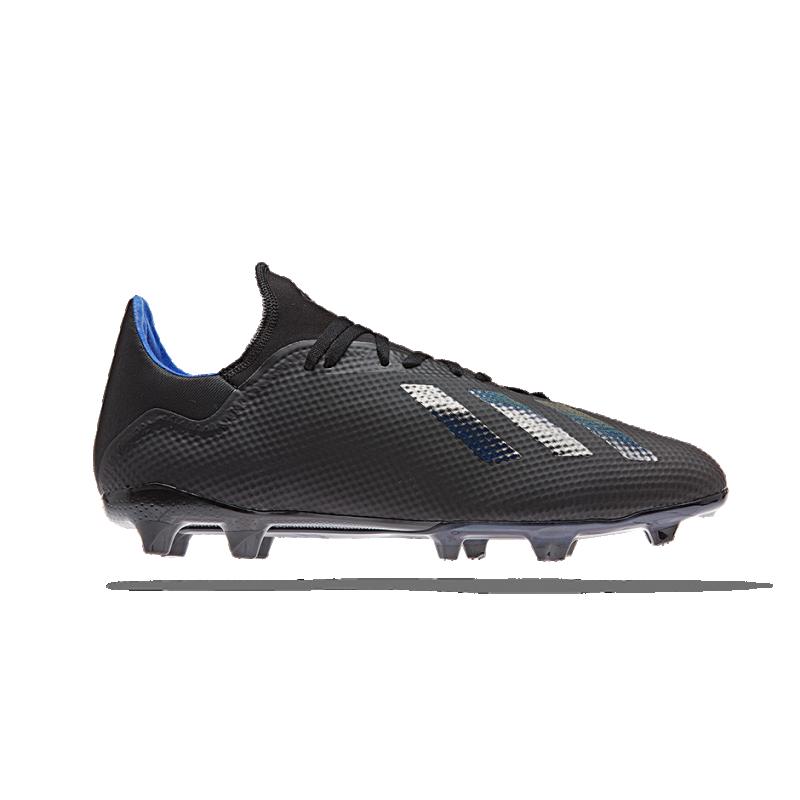 adidas X 18.3 FG (D98076) - Schwarz