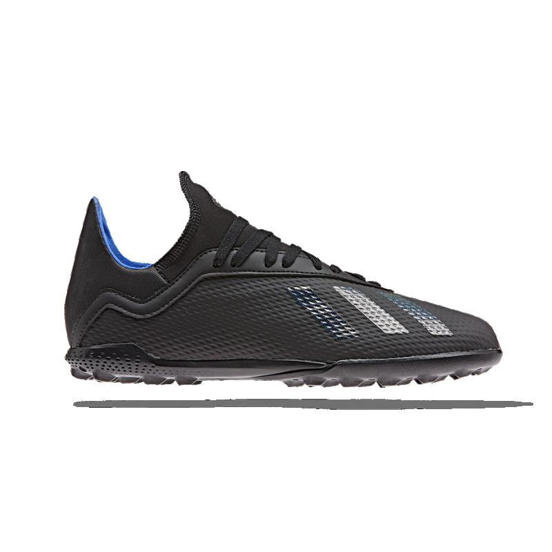 adidas X 18.3 TF Kinder (G26985) - Schwarz