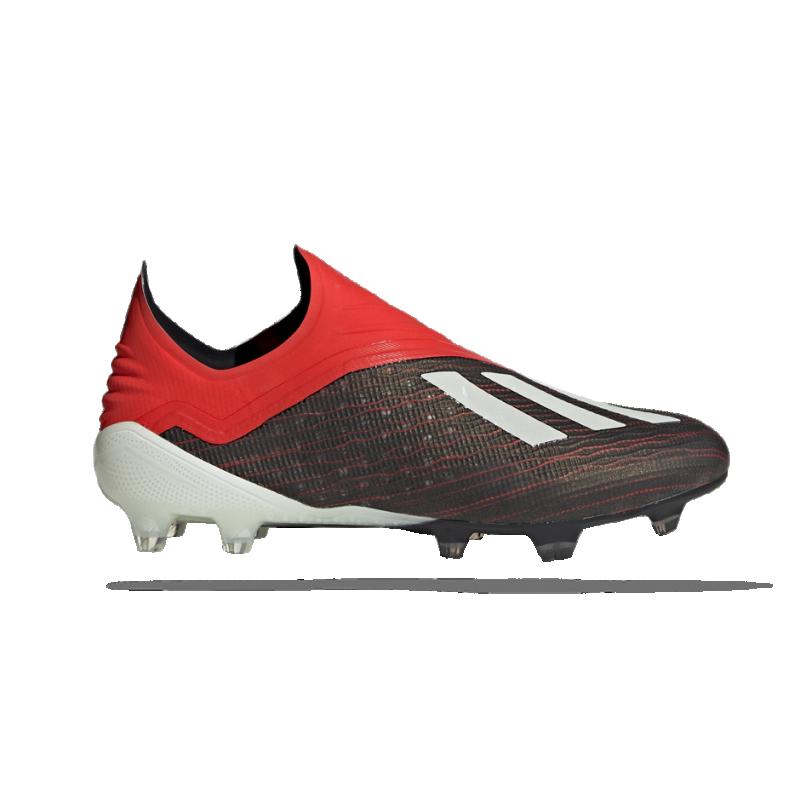 adidas X 18+ FG (BB9335) - Schwarz