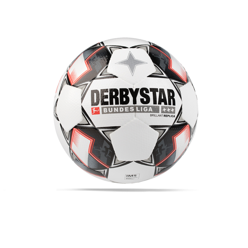 DERBYSTAR Brilliant APS Bundesliga Replica Ball 18/19 Gr.5 - Weiß