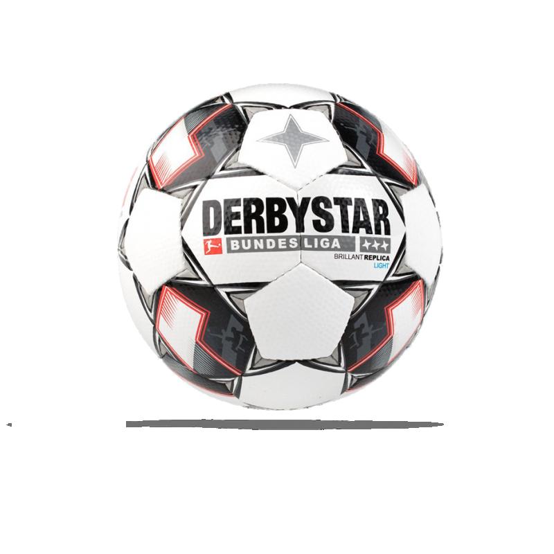 DERBYSTAR Bundesliga Brillant Light 350g Ball Gr. 5 (123) - Weiß