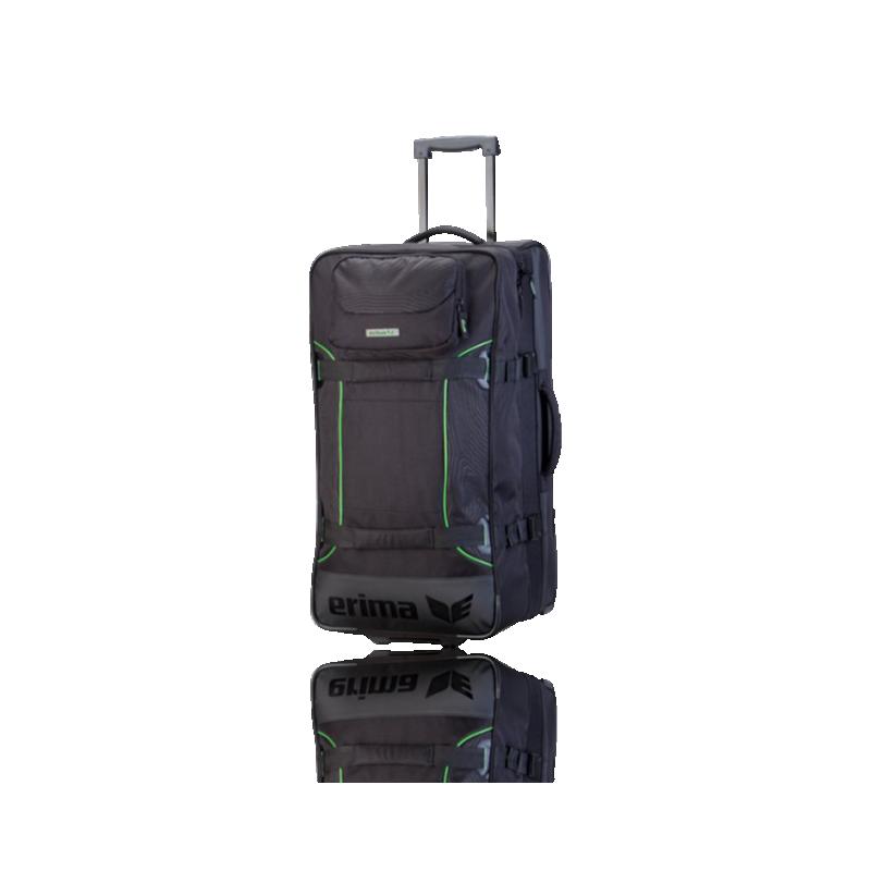 erima sporttasche mit rollen travel 723334 in schwarz. Black Bedroom Furniture Sets. Home Design Ideas