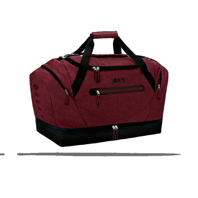 JAKO Champ Sporttasche mit Bodenfach Gr. 2 (001) - Rot