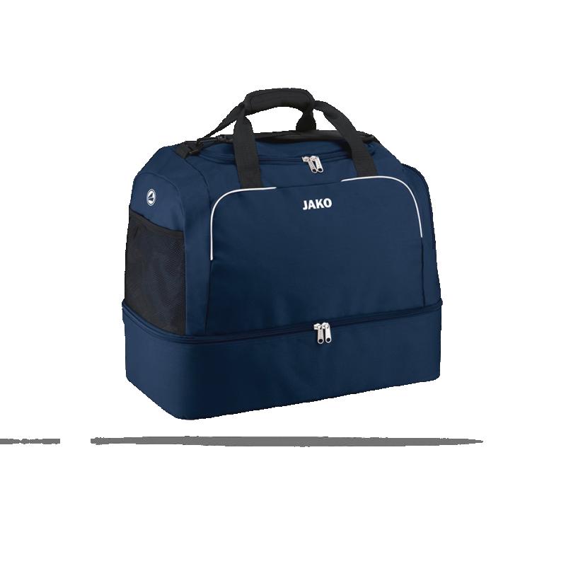 JAKO Classico Sporttasche mit Bodenfach Gr. 3 (009) - Blau