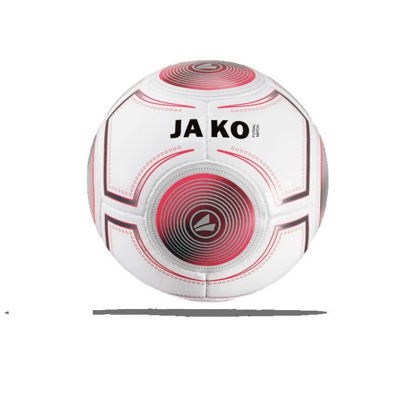 JAKO Spielball Futsal 3.0 Fussball Gr. 4 (018) - Weiß