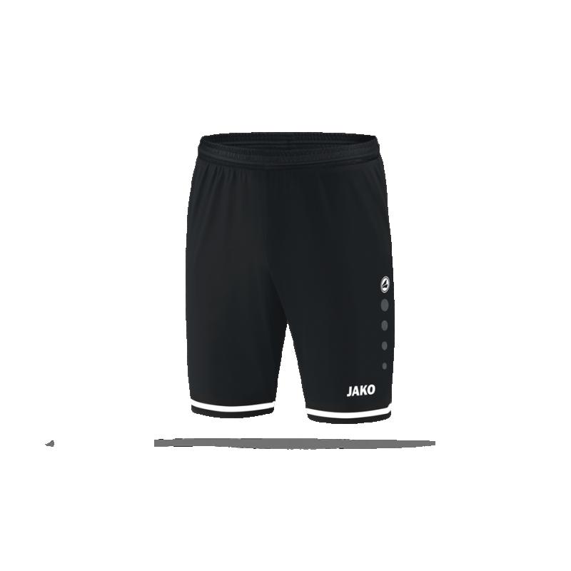 JAKO Striker 2.0 Short Hose kurz Kinder (008) - Schwarz