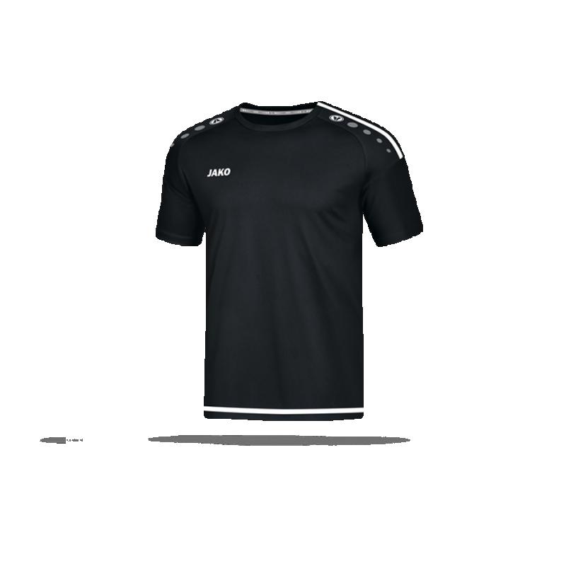 JAKO Striker 2.0 Trikot kurzarm (008) - Schwarz