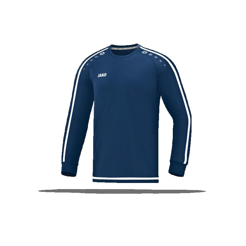 JAKO Striker 2.0 Trikot langarm Kinder (099) - Blau