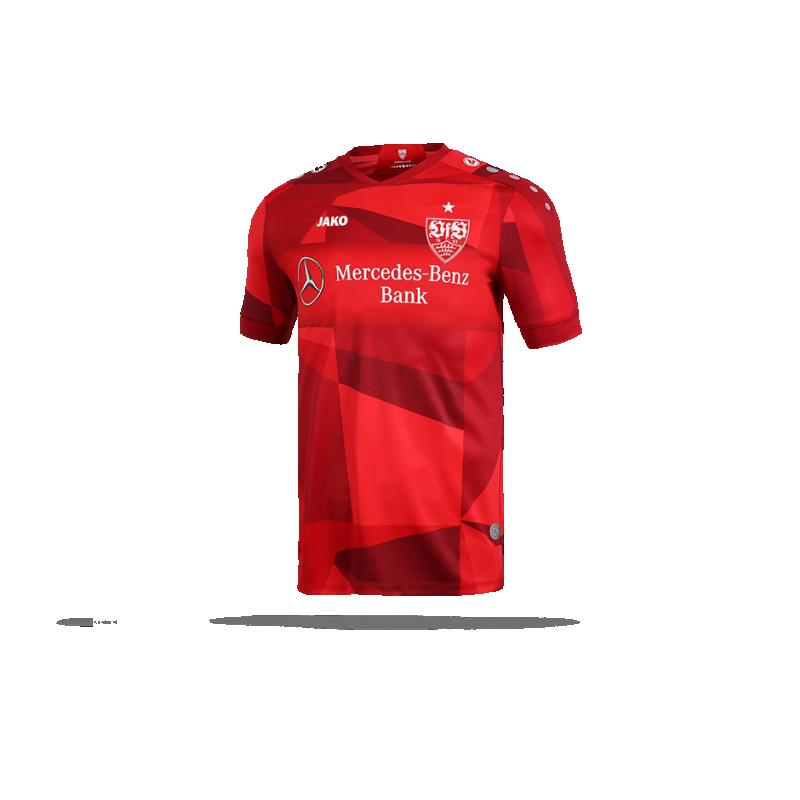 brand new 8bc51 538f0 JAKO VfB Stuttgart Trikot Away 19/20 (001)