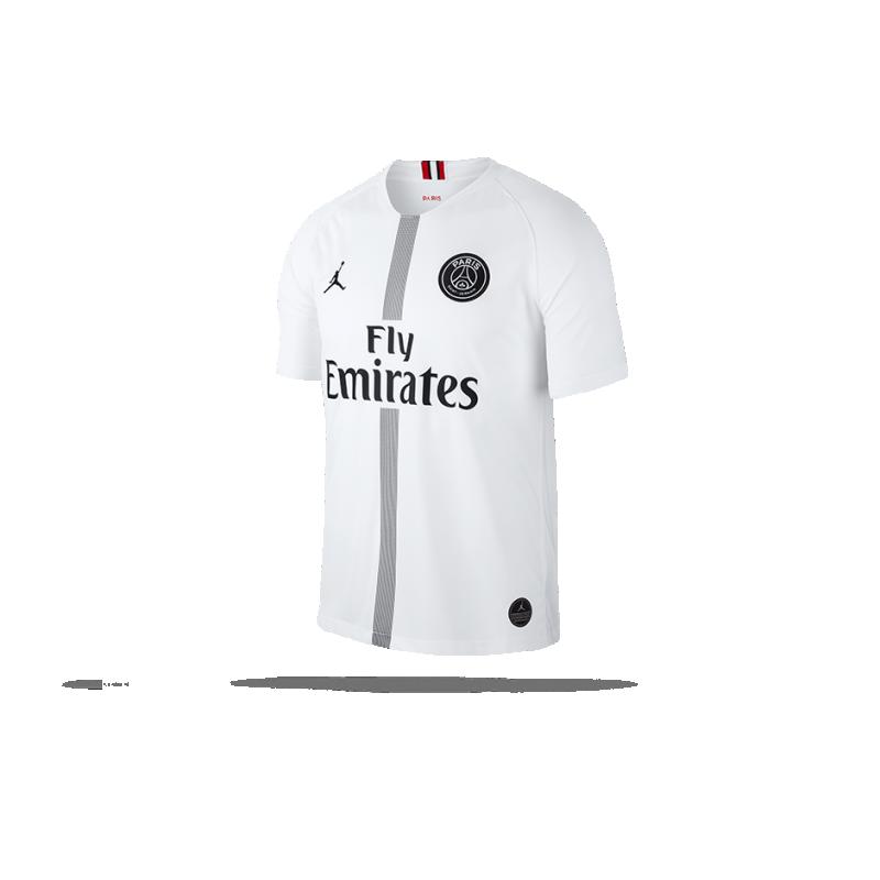competitive price dca77 487f5 JORDAN Paris St. Germain Trikot UCL Away 18 19 (102) - Weiß