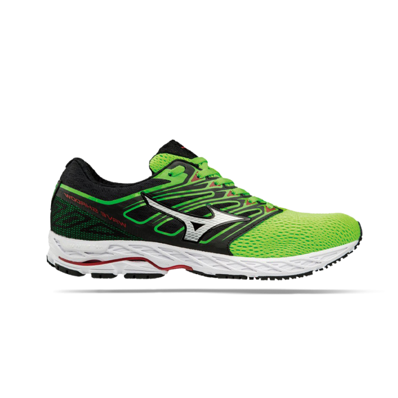 MIZUNO Wave Shadow Running (001) - Grün