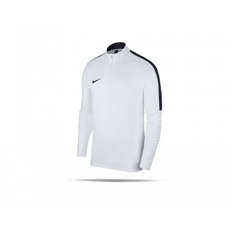 NIKE Academy 18 Drill Top Sweatshirt (100) - Weiß