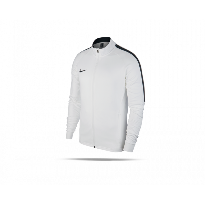 nike academy 18 knit track jacket jacke 100 in wei. Black Bedroom Furniture Sets. Home Design Ideas