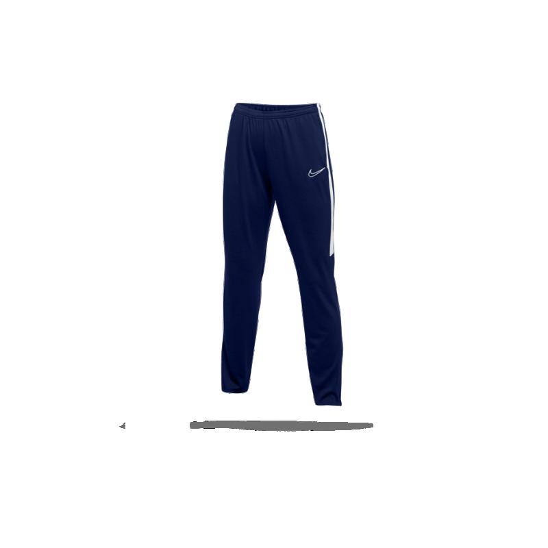 nike academy 19 damen trainingshose blau weiß
