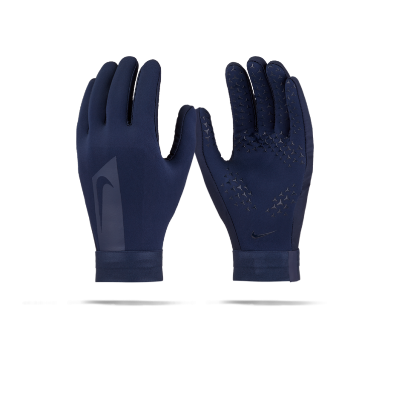 nike academy hyperwarm feldspieler handschuhe 451 in blau. Black Bedroom Furniture Sets. Home Design Ideas