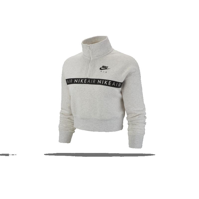 detailed look 13a4e 68399 NIKE Air 1/2 Zip Top Sweatshirt Damen (051)