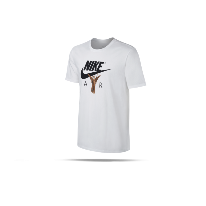 nike air photo tee t shirt 100 in wei. Black Bedroom Furniture Sets. Home Design Ideas