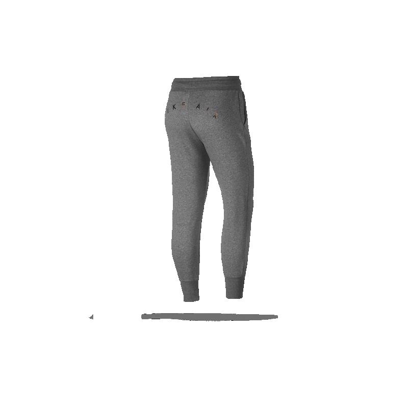 nike air rally fleece pant jogginghose damen 063 in grau. Black Bedroom Furniture Sets. Home Design Ideas