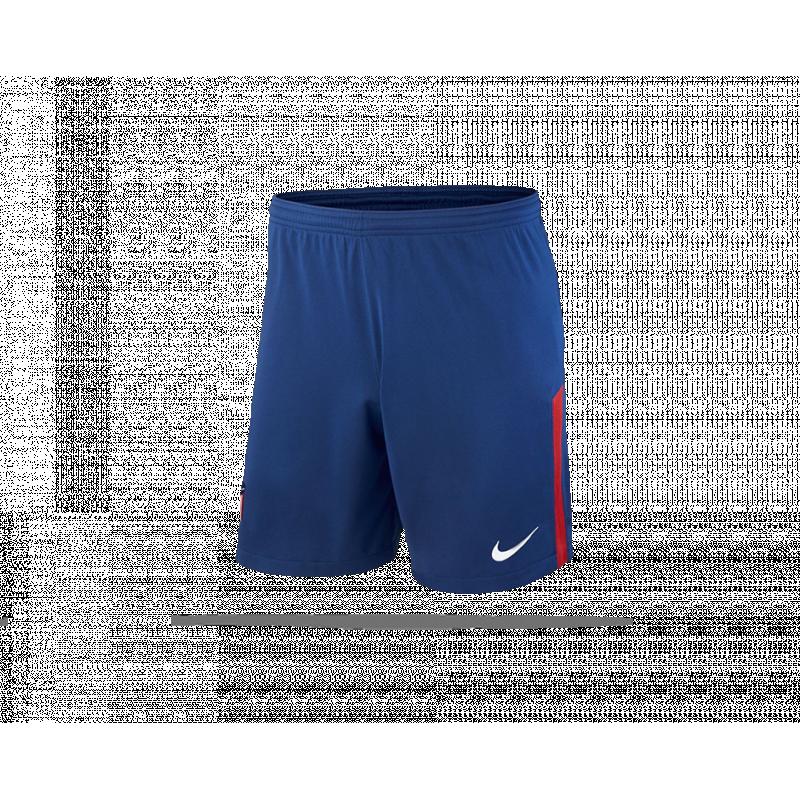 nike atletico madrid short home 2017 2018 485 in blau. Black Bedroom Furniture Sets. Home Design Ideas